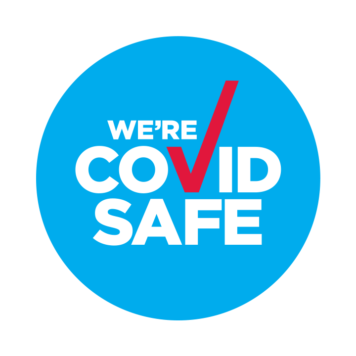 We're COVID Safe'
